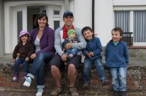 Familienfoto Belgien